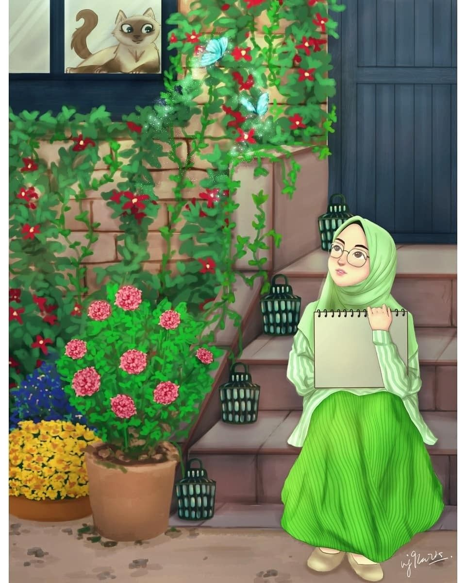 This 1 Pic Describes Everything Kartun Gambar Seni Islamis
