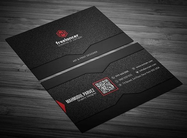 Here Is An Elegant Corporate Business Card PSD Template Have - Business card psd template