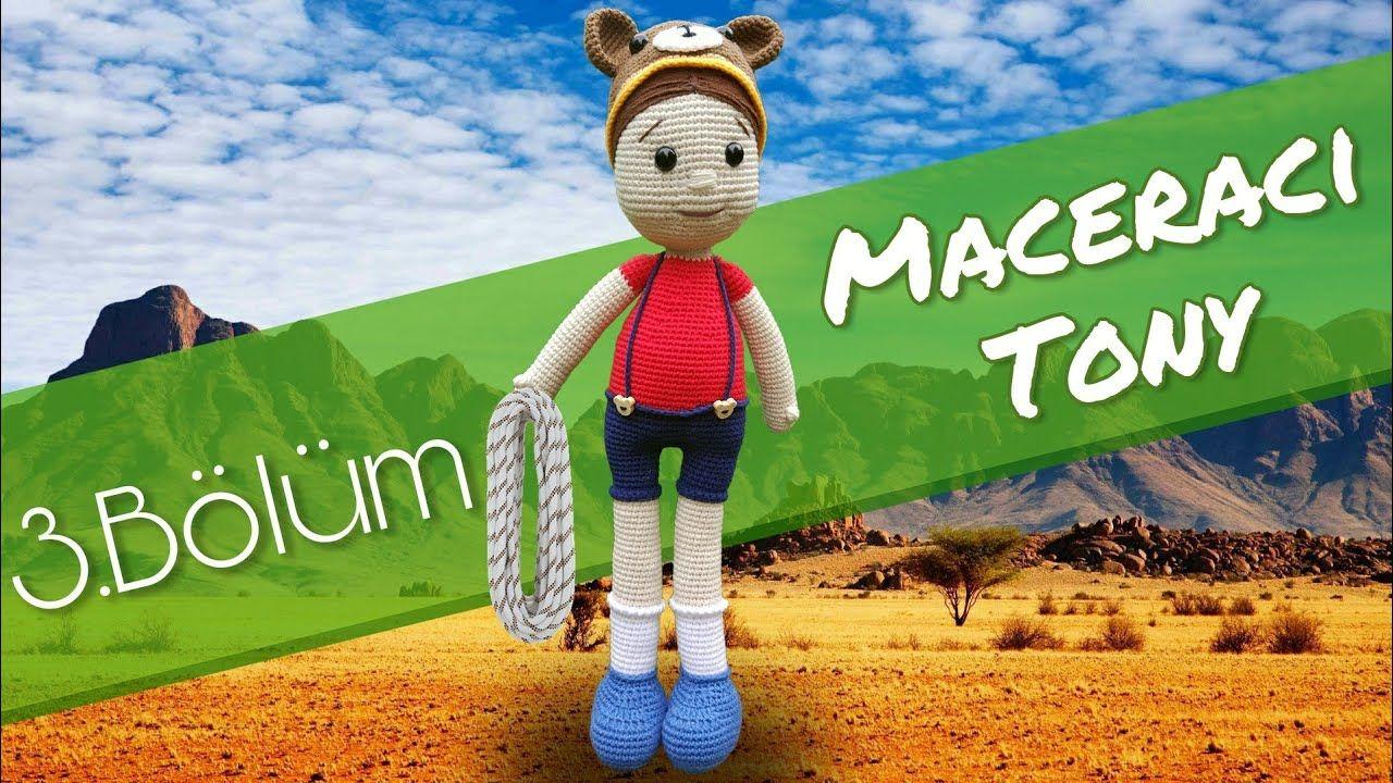 Amigurumi Bahçıvan Oyuncağı Yapımı   Oyuncak, Baby knitting ...   720x1280
