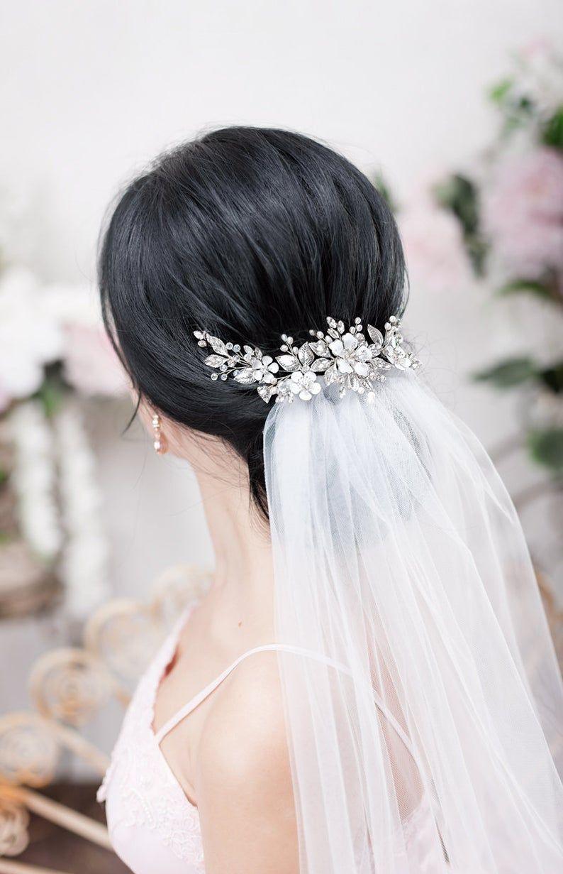 DAWN Crystal Wedding Bridal Head Piece