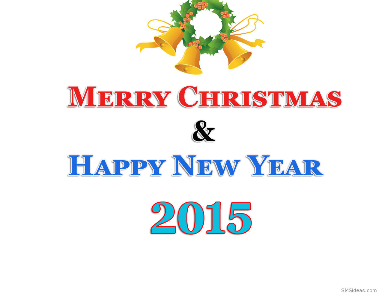 Merry Christmas saying and Happy new year 2015 | Happy New Year ...