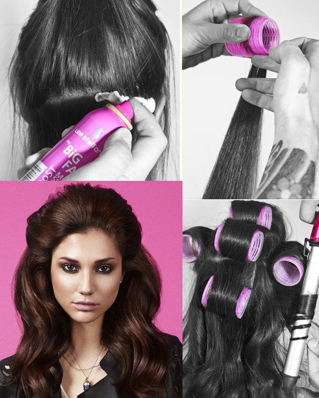 How To Do A Big And Bouncy Hairdo Night Hair Big And Hair Style