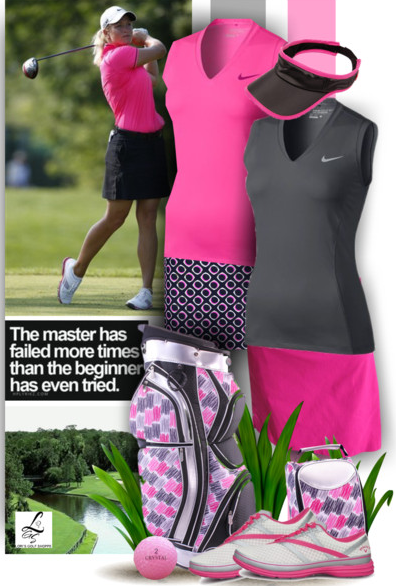 Wondering what outfit to wear for your golf games? Check out a huge variety of #lorisgolfshoppe styles in polyvore!