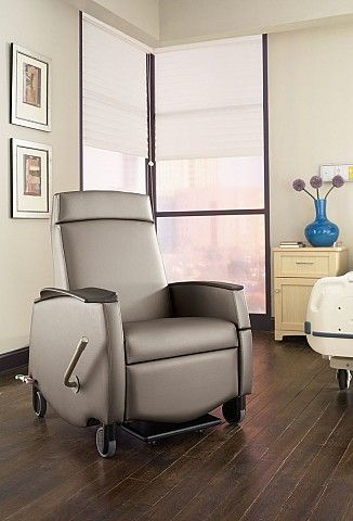 Orchestra Series Treatment Recliner With Transfusion Arm Option From Carolina  Business Furniture.