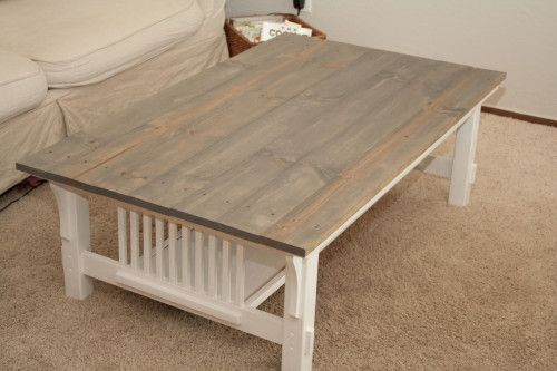 Furniture Friday A Mission Coffee Table Redo Bundle And Buns