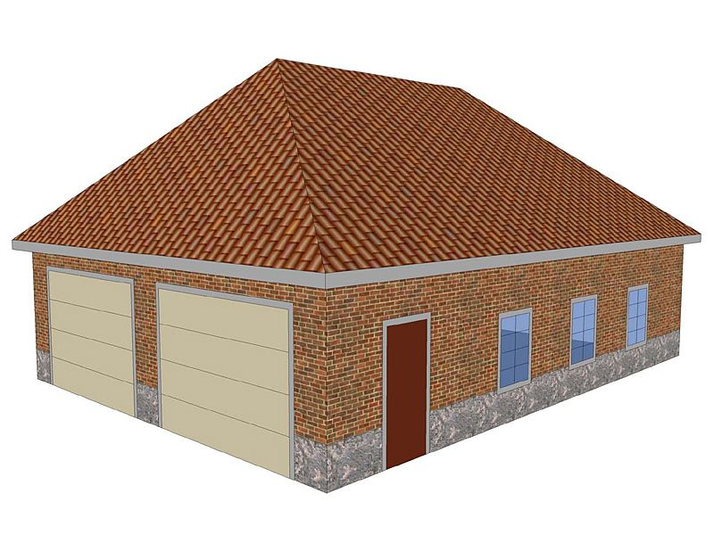 a hipped roof has slopes in four directions roofs