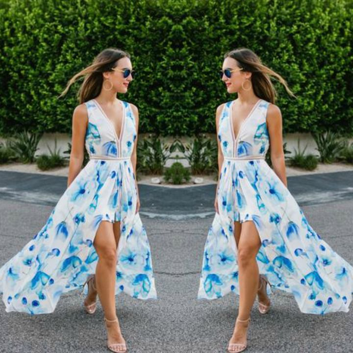 ba8e06ff26a5 Rompers with Skirt Overlay