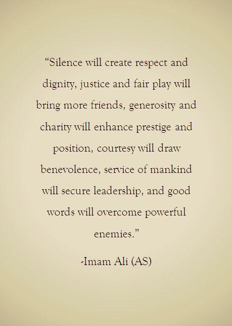 Hadith Quote Imamali Shia Islam Weisheiten