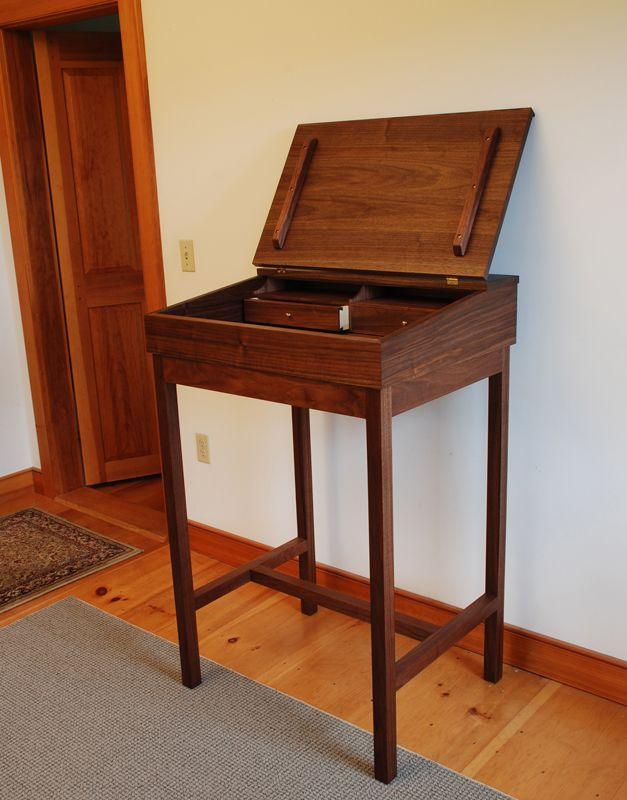 Stand up writing desk furniture