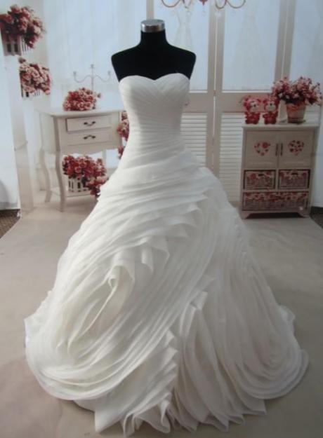 Un vestido asi para el matrimonio