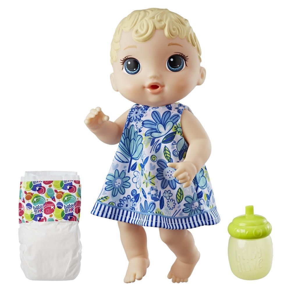 Baby Alive Lil Sips Blonde Baby Doll Hasbro Nib Hasbrobabyalive Dollswithclothingaccessories Baby Alive Dolls Baby Doll Accessories Realistic Baby Dolls