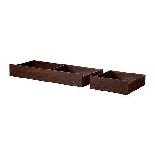Bed Frame With 4 Storage Boxes