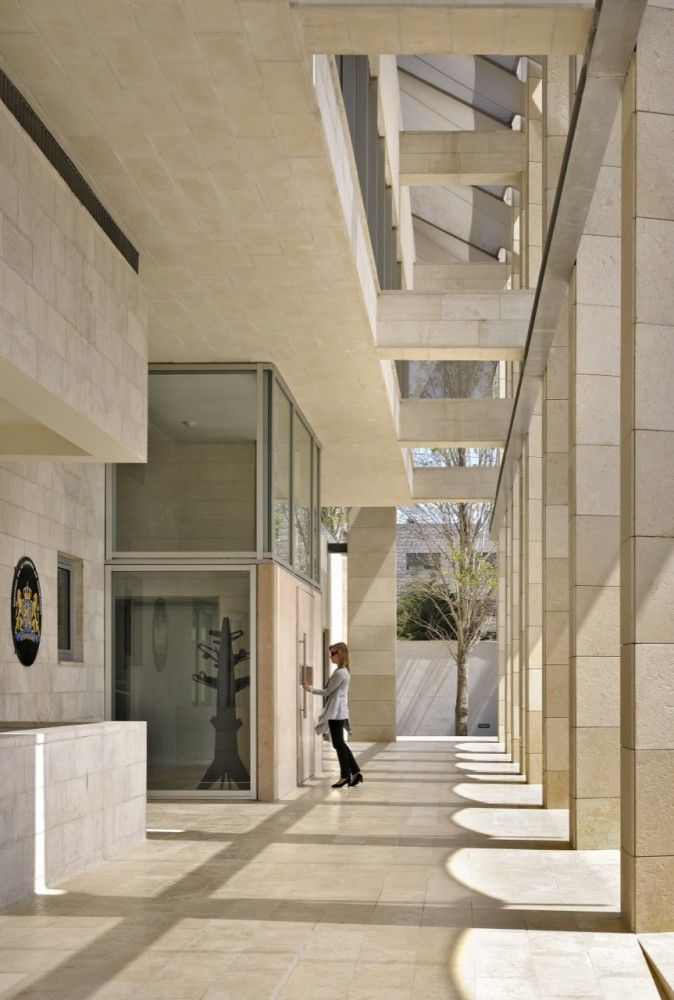Dutch Embassy In Amman Rudy Uytenhaak Architecture Architects - Netherlands embassy kuwait map