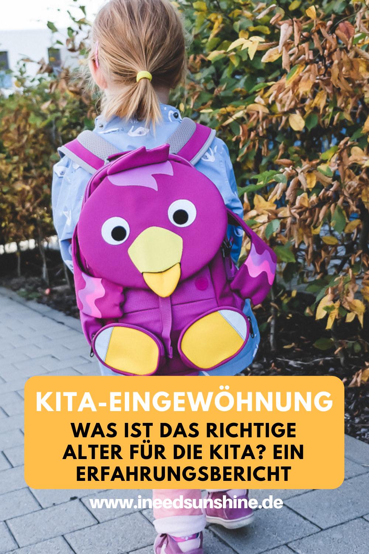 Kita Eingewöhnung Erfahrungen Mit Kind Fast 2 Jahre Alt Mama Blog