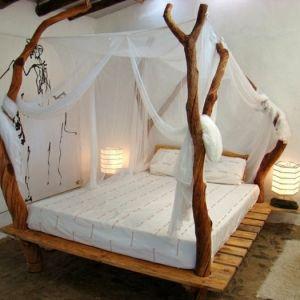 35 fantastische Ideen für Bett aus Paletten – Archzine.net