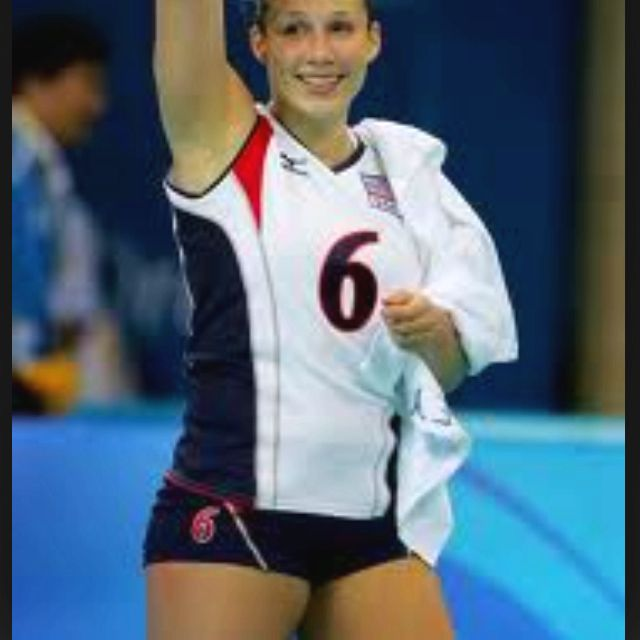 Nicole Davis Defensive Specialist Usa Olympic Volleyball Amazing Olympic Volleyball