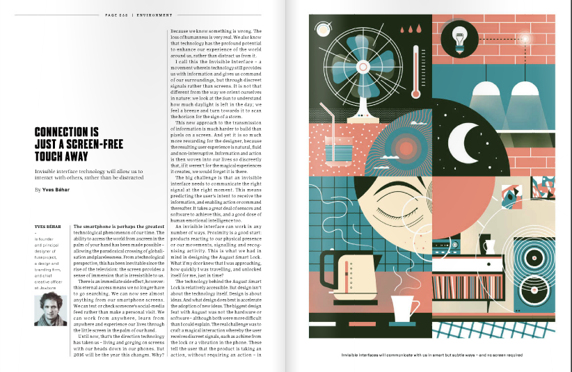 design #editorial #layout da The Wired World In 2016 UK #magazine ...