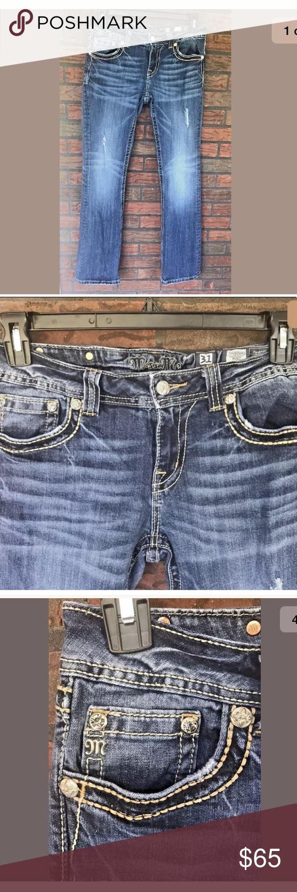 Miss Me Jeans Size 31 Erkalnathandedecker