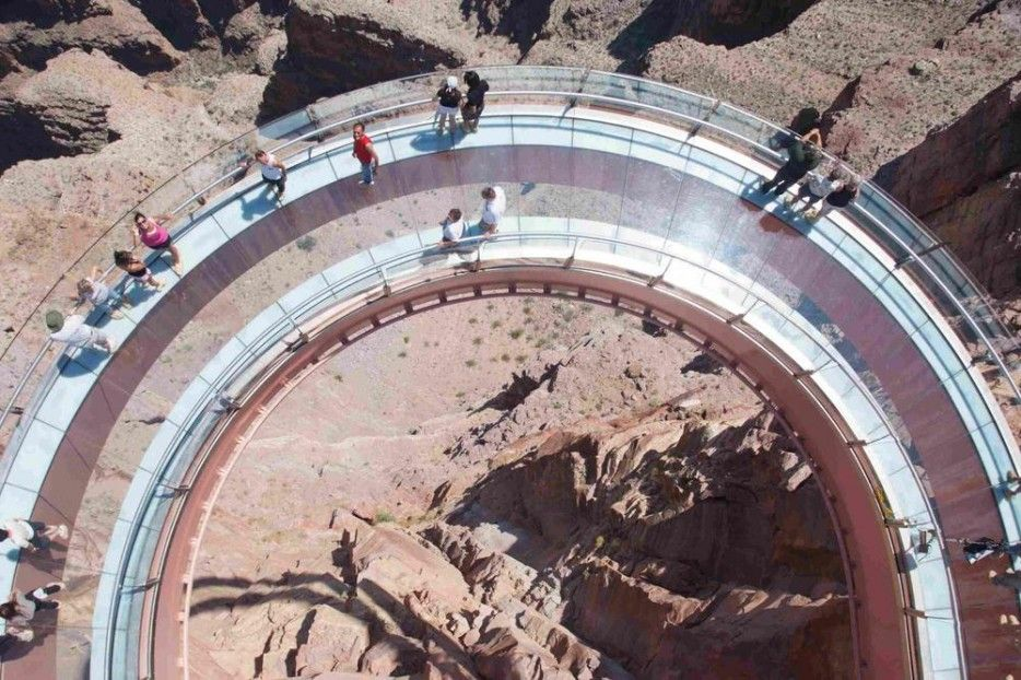 The 24 Most Terrifying Places In The World To Look Down