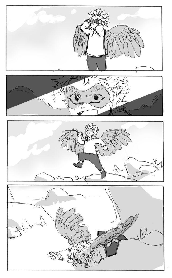 Hawks Keigo Takami Takami Keigo Anime Sketch Animal Drawings My Hero Academia