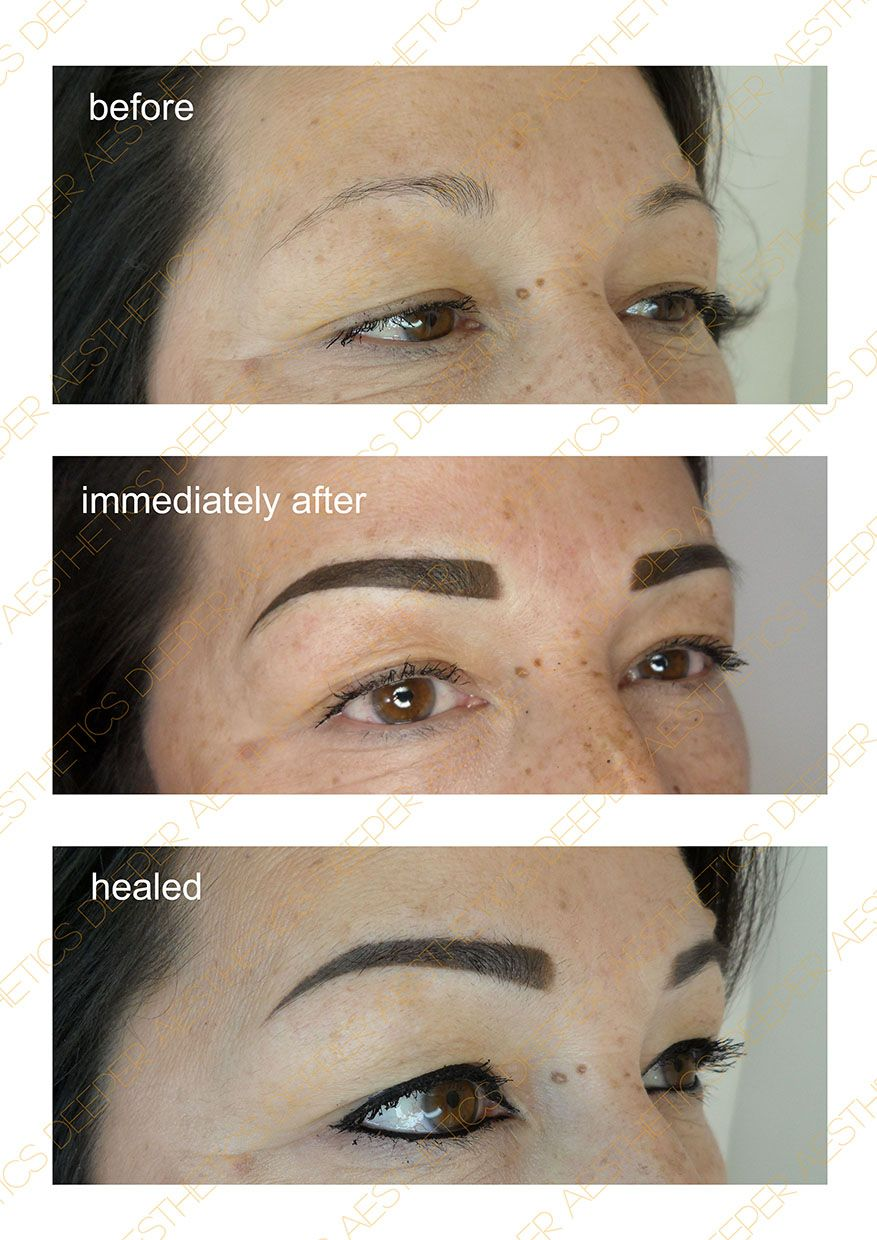 Permanent make up by Deeper Aesthetics. www