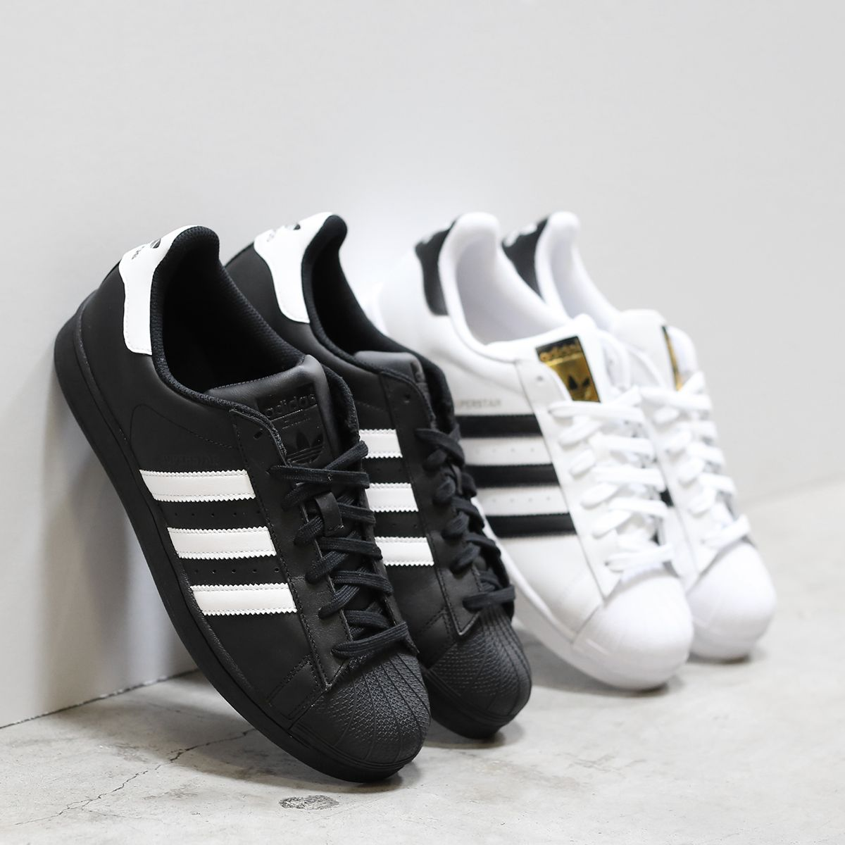 adidas shoes for girls superstar black. be a superstar! the adidas superstar sneaker is back in black \u0026 white for girls shoes