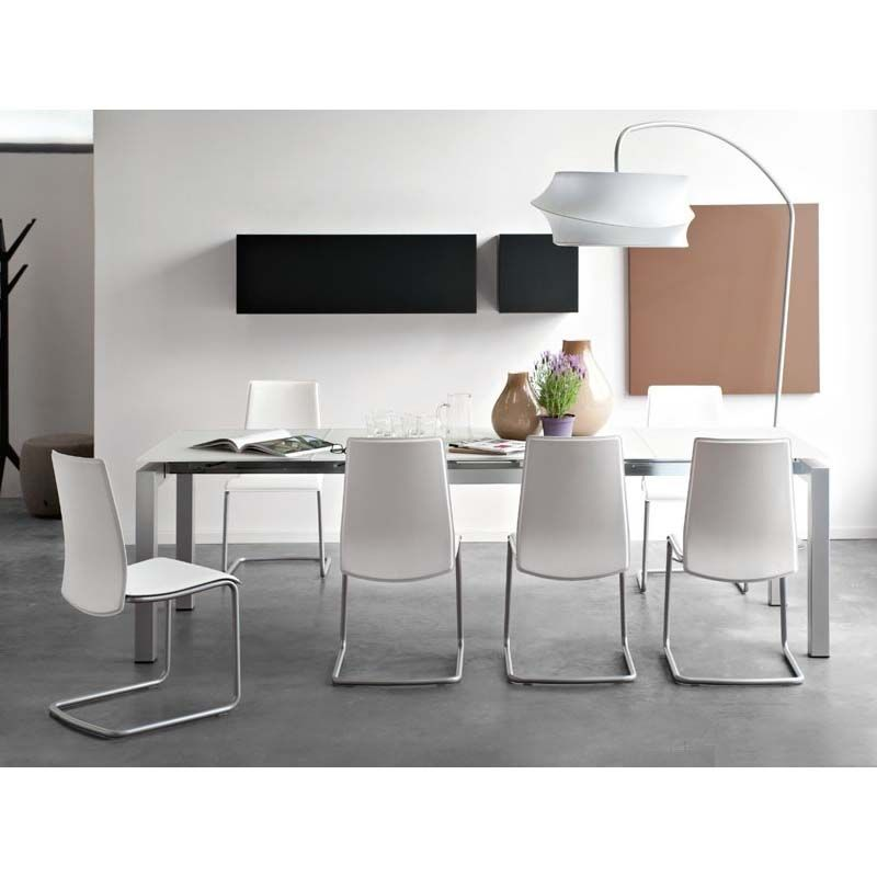 Sedia in metallo Calligaris Connubia Swing - Si adatta facilmente ad ...