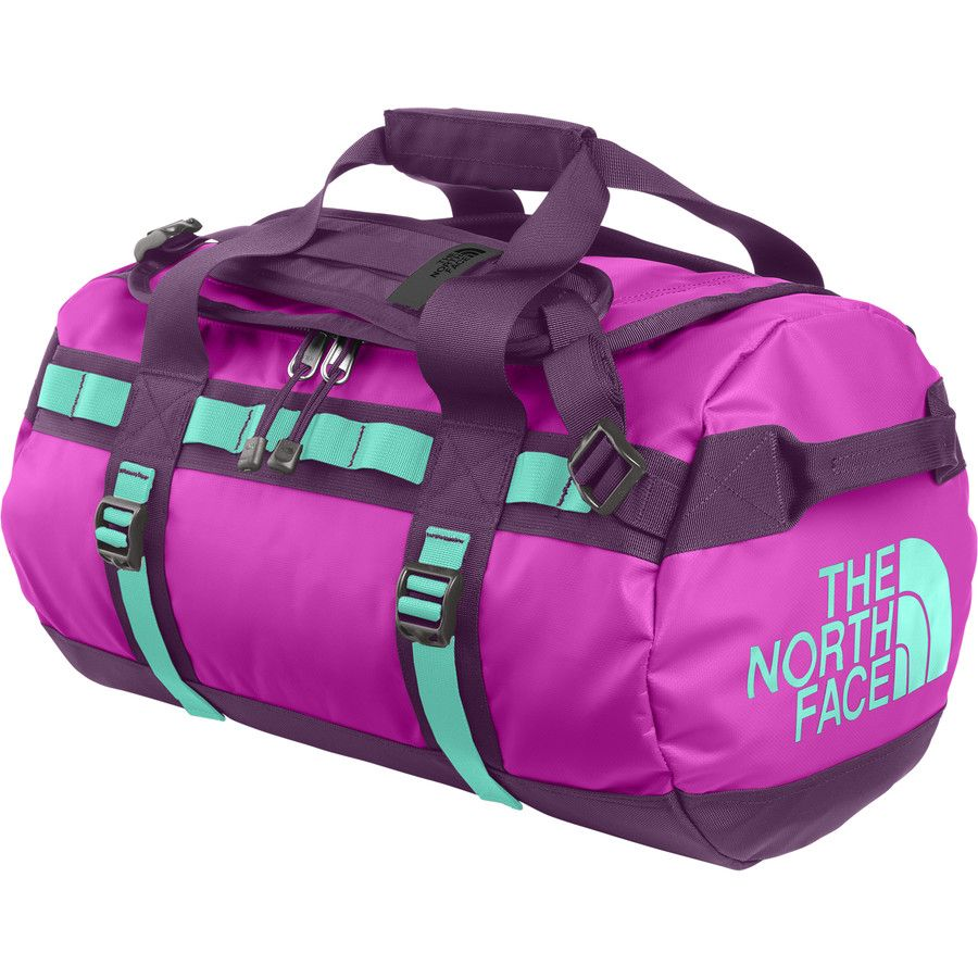 e372c686b131 NorthFace Base Camp Duffle Bag Size SMALL  Color Violet Pink Mint Blue   Northface  119.95. Perfect work out   travel bag.