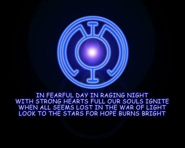 Blue Lantern Oath   #comics