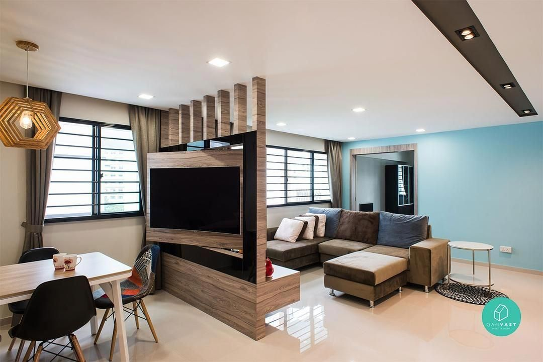 No More Walls 8 Smart Partition Ideas For Small Homes Smalllivingrooms Living Room Partition Design Room Partition Designs Living Room Kitchen Partition