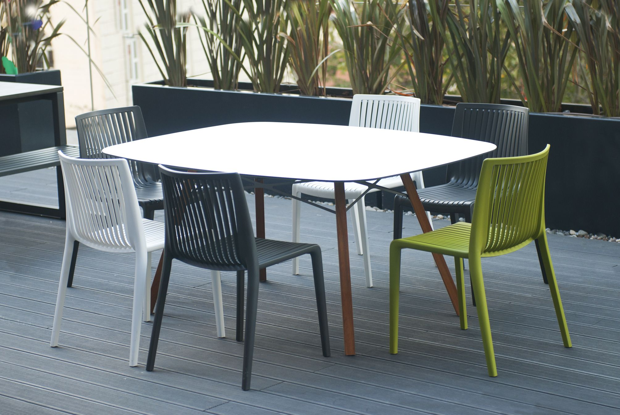 Stackable Dining Table Chairs