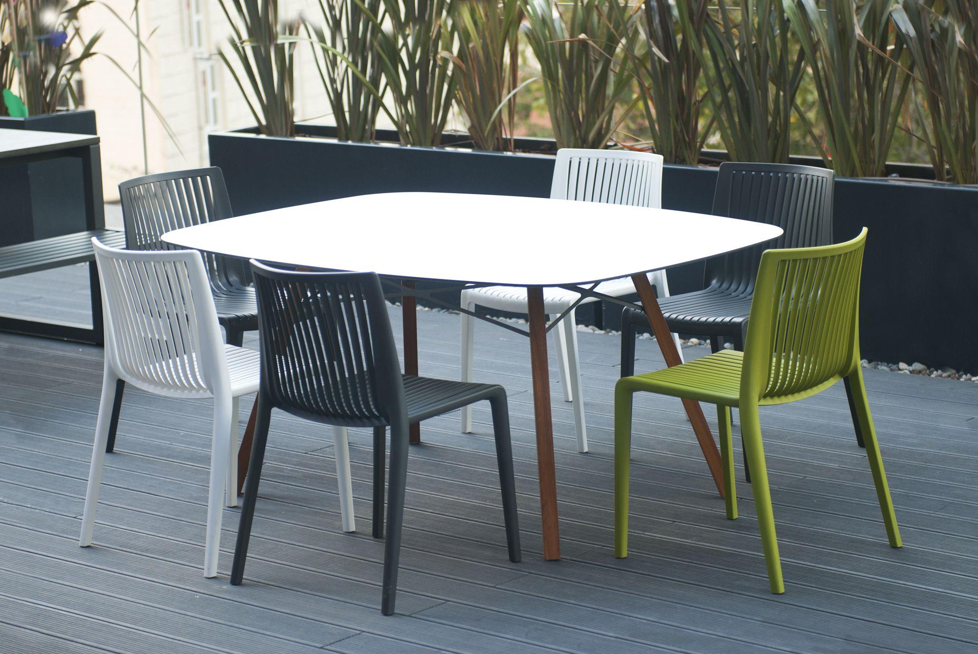 Papatya Chair Cool Plastic Monobloc Oudoor