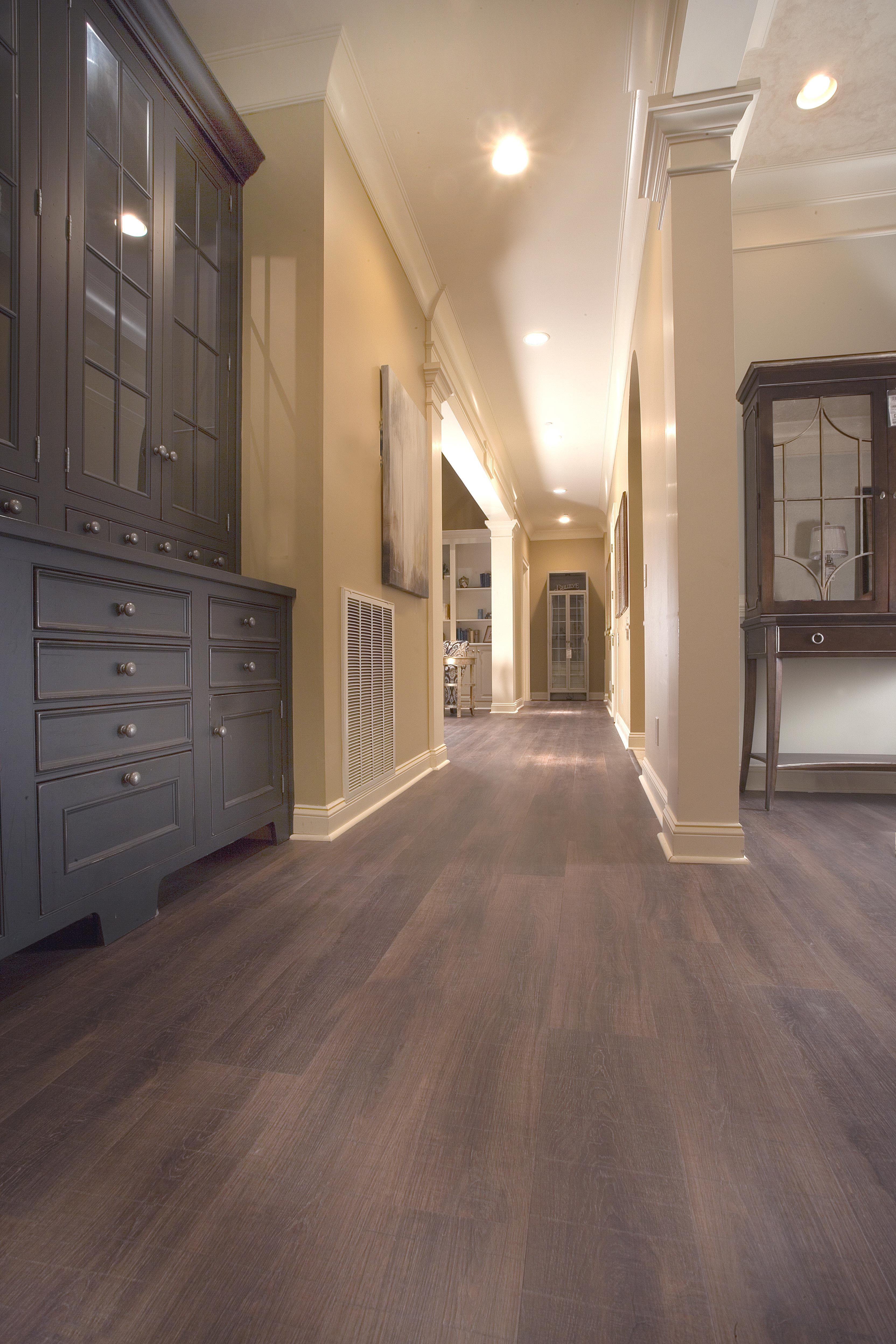Waterproof Kitchen Flooring Real Life Look Of Hardwood But Its A Luxury Vinyl Plank Floor