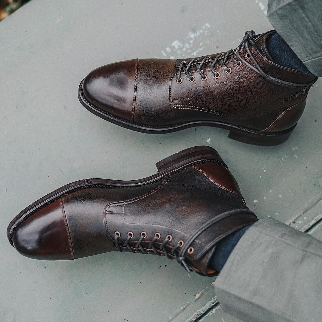 taft - Coffee Dragons are made with Kudu Leather from the UK tannery CF  Stead. Kudu Leather embraces the natural scarring and irregularities that  are ... fe90f5641d