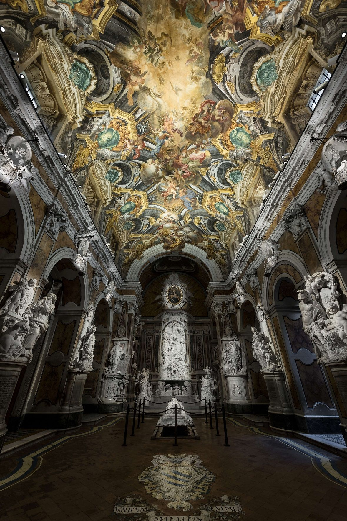Museo Cappella Sansevero.Museo Cappella Sansevero Naple Italy Lighting Products Palco