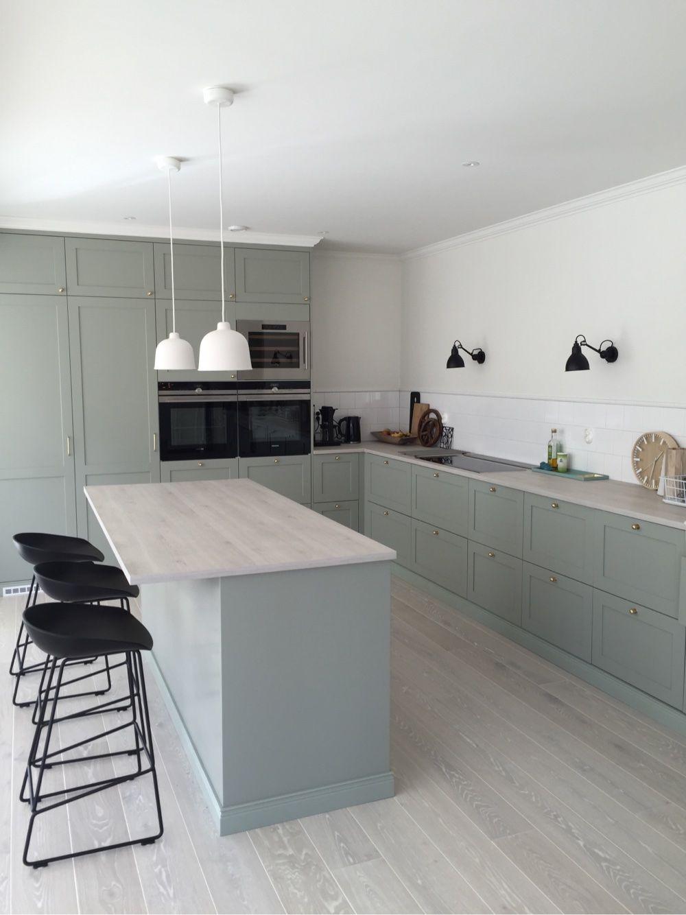 Grått/vitt kök   Kitchen and dining love   Pinterest   Grey ...