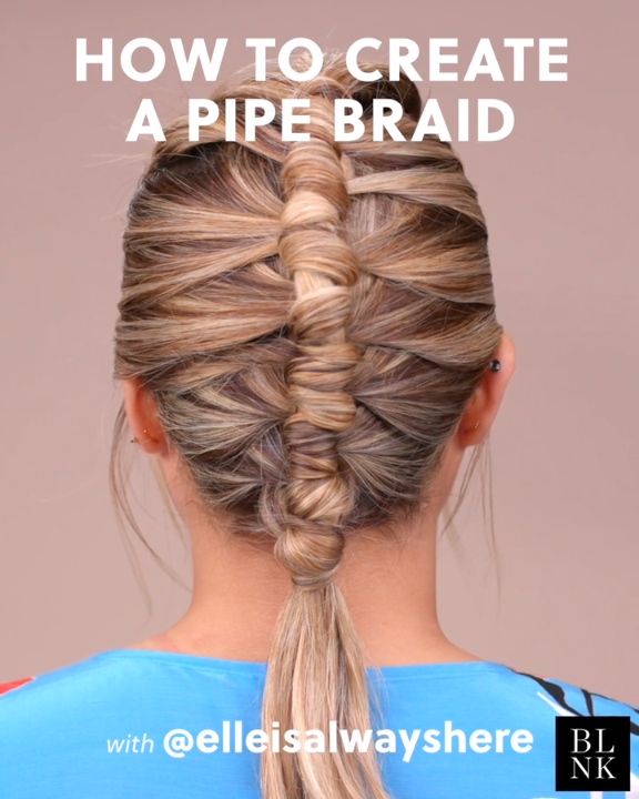 How to Create a Pipe Braid #braidtutorial #pipebraid #summerbraids #summerhairst…
