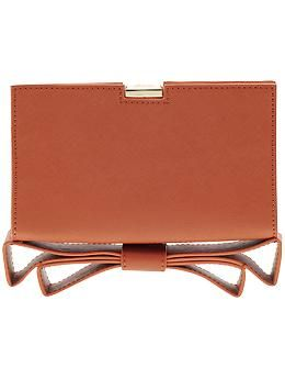 ZAC Zac Posen Milla Clutch | So streamlined and chic. And the color is amazing