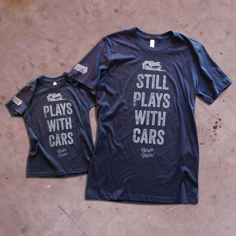 Youth Adult Plays With Cars Premium T Shirt Pack CarpeViam Love This Idea For My Partner And His 3 Year Old Son
