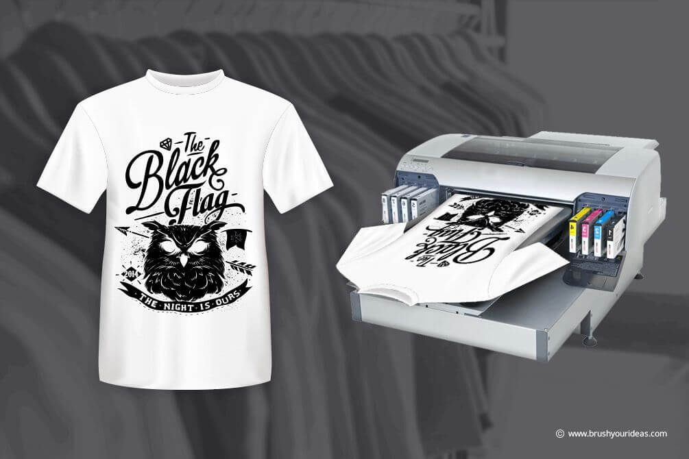 How To Set Up Your T Shirt Printing Business Brush Your Ideas T Shirt Design Software Online Tshirt Design Tshirt Designs
