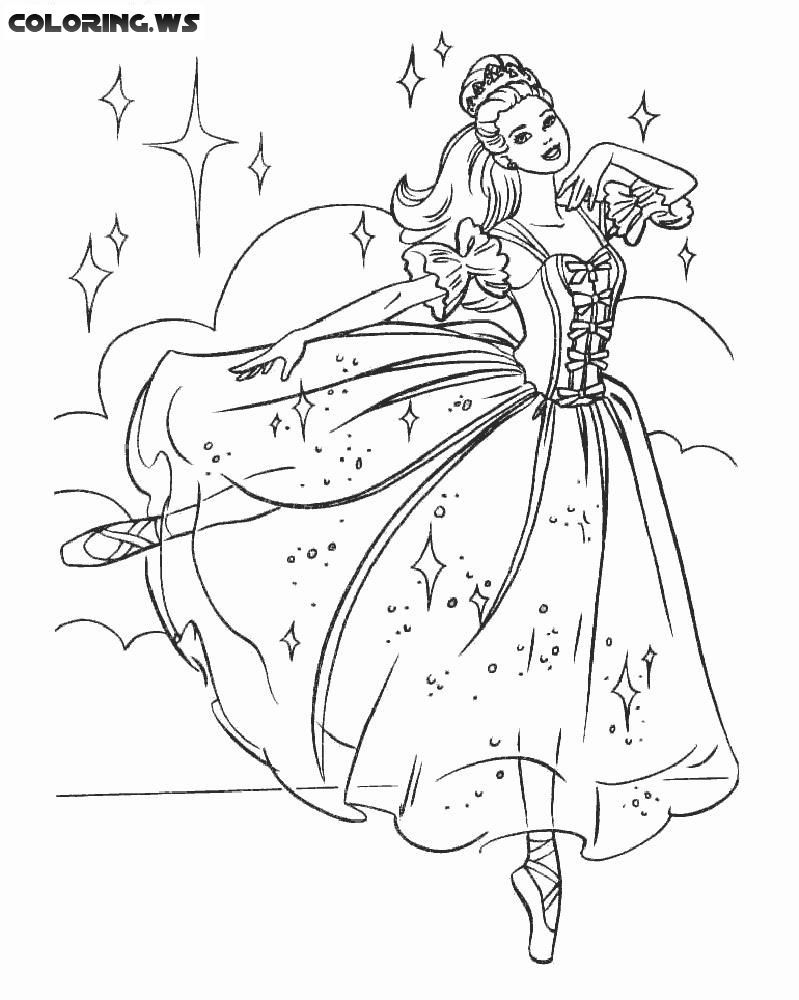 Ballerina 05 Ballerina Coloring Pages In This Coloring Page