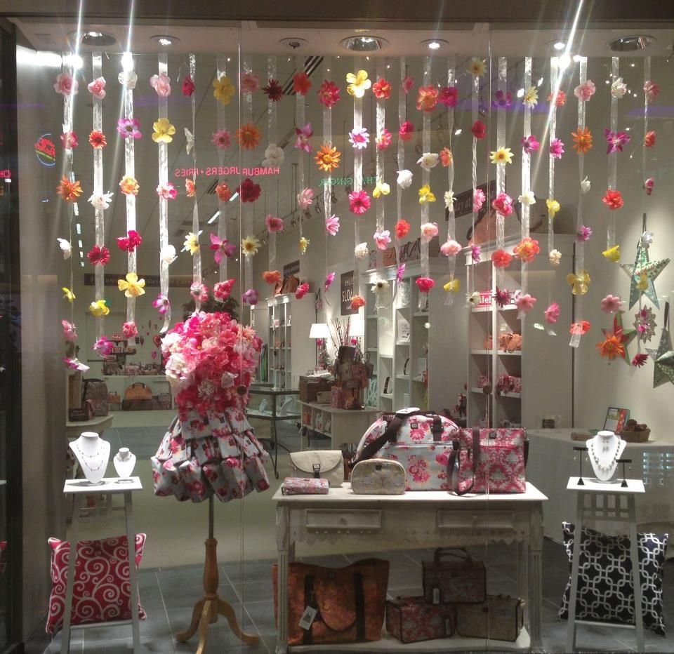 Our 8 Best Spring Decor Ideas Home Tour: Spring 2013 Window Display In Our Seattle Flagship