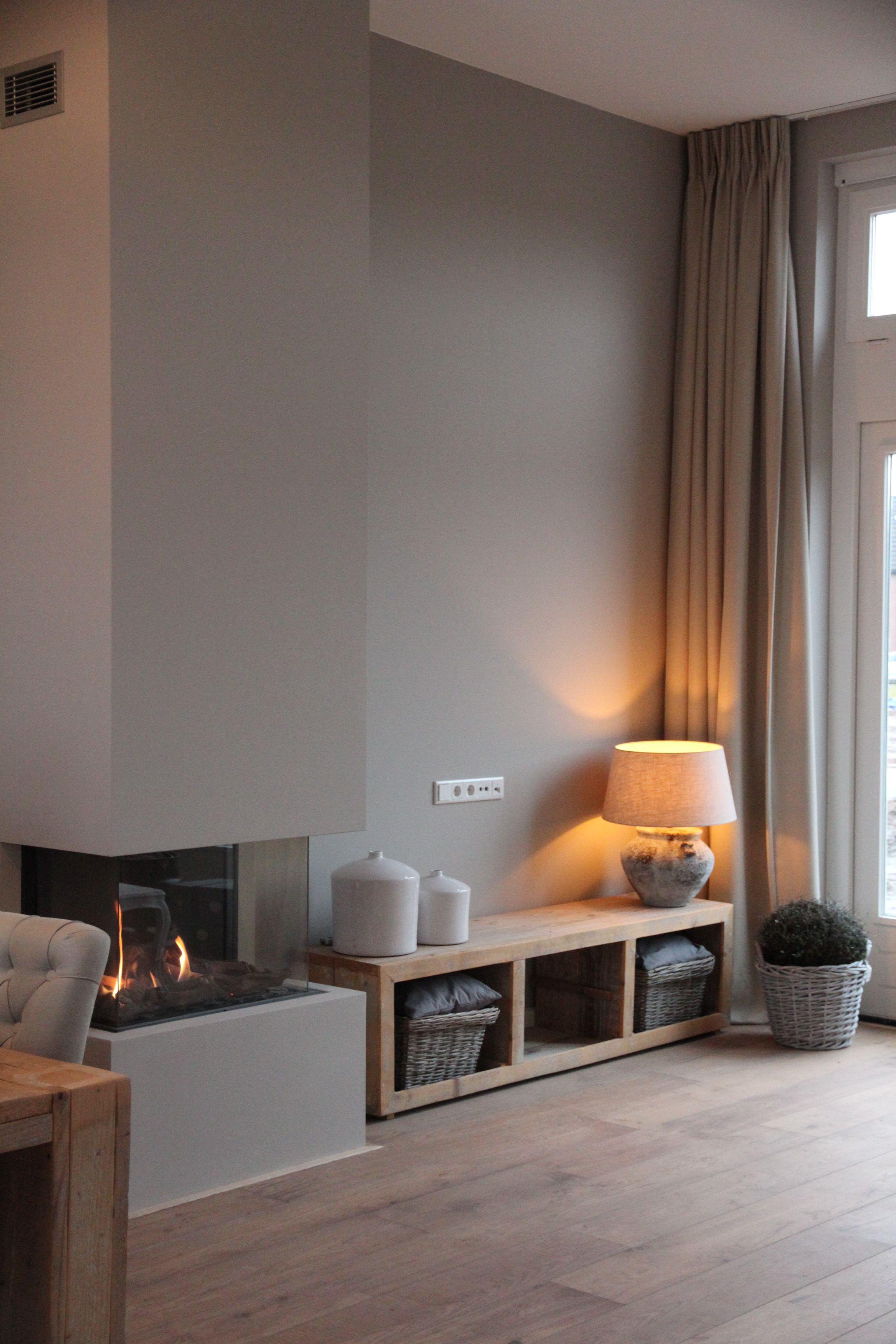 Gashaard in kolom - Home sweet home! | Pinterest - Haard, Gordijnen ...