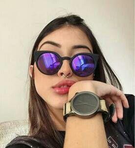 Óculos espelhado   Sunglasses em 2019   Óculos, Óculos espelhado e Maju b63df90fe2