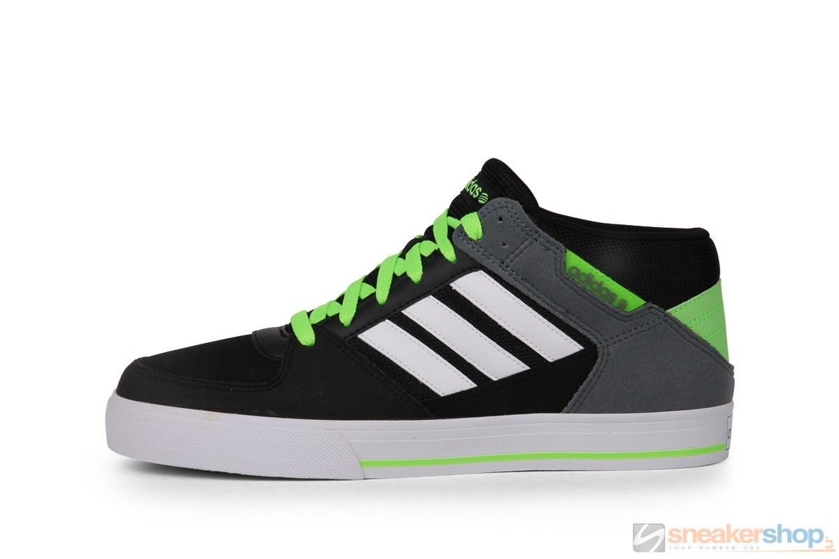Adidas SKneo Grinder (Black/White/Solar Green) | F38554