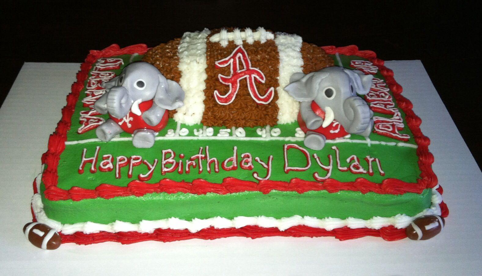 Alabama Cake Sports Apparel Cute Ideas Sayings Etc Pinterest