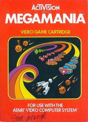 Megamania Para Atari 2600 Art Inspiration Posters Book Covers