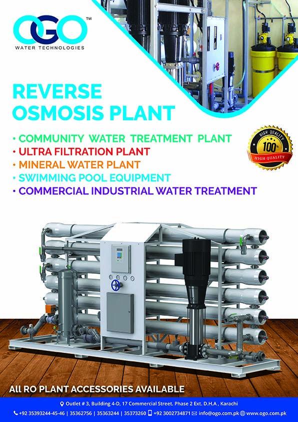 Ro Plant Price In Karachi Pakistan Call 03111646666 Visit Www Ogo Com Pk Swimming Pool Equipment Water Treatment Plant Water Treatment