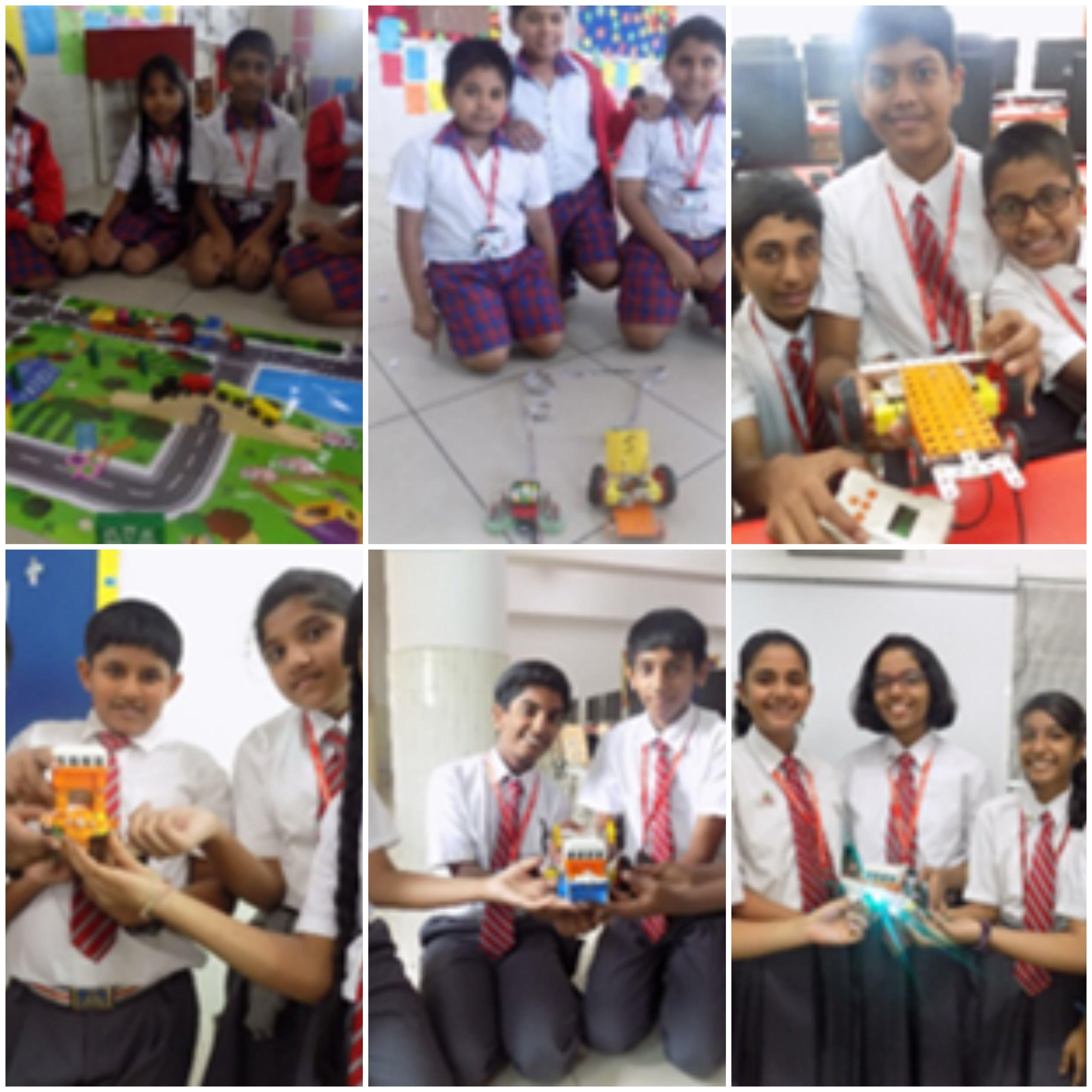 Rcis Kalyan Nagar Robotics Was Introduced This Academic