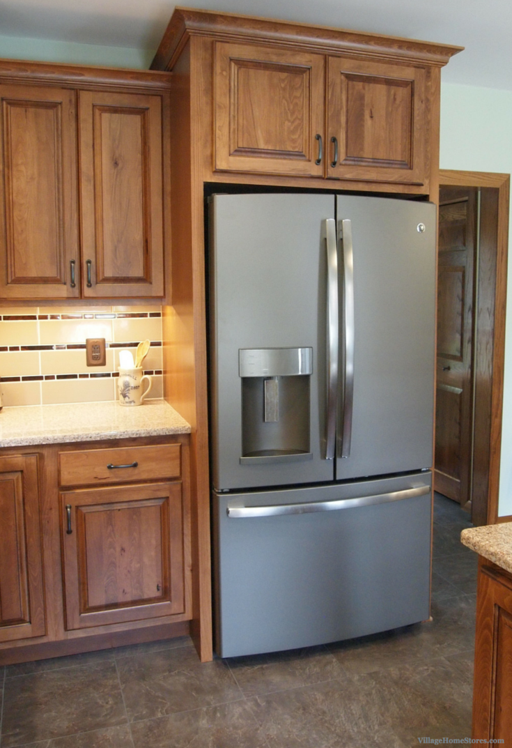 Galva Kitchen Remodel Village Home Stores Kitchen Cabinets End Panels Refrigerator Panels Kitchen Remodel